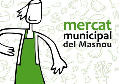 Imatge corporativa del Mercat Municipal del Masnou