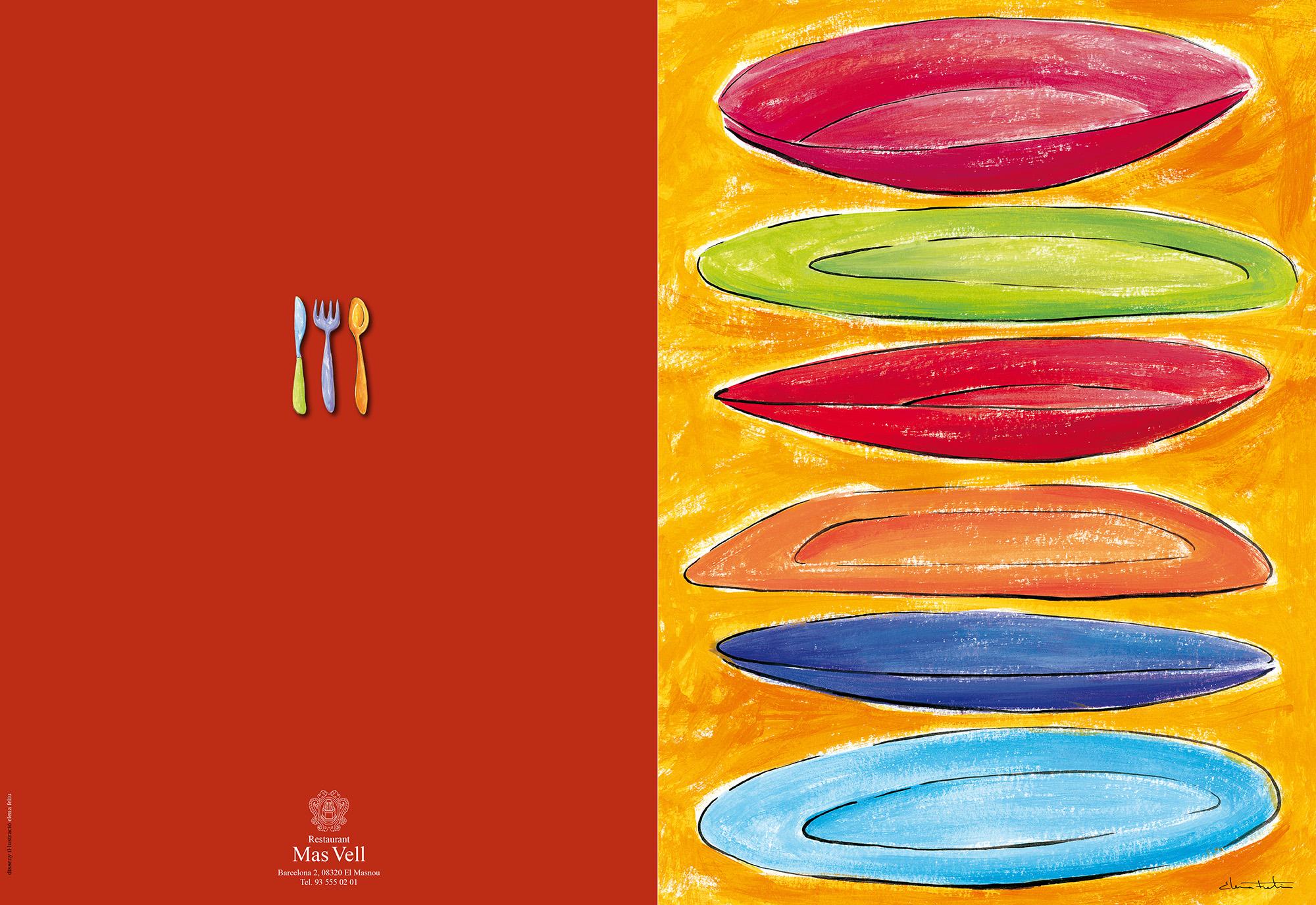 Carta restaurant Mas Vell del Masnou