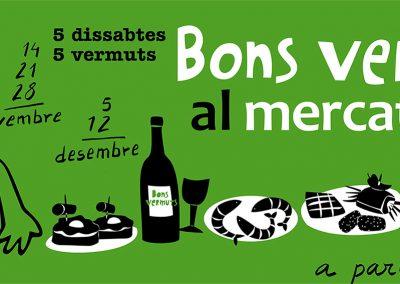 Bons vermuts al Mercat Municipal del Masnou