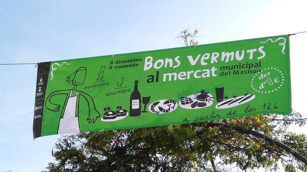 Pancarta Bons vermuts