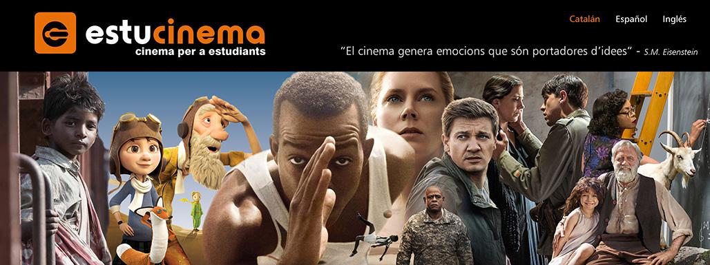 Banner Cinema per a estudiants 2017