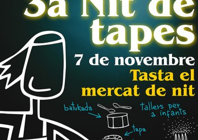 Nit de Tapes al Mercat Municipal del Masnou