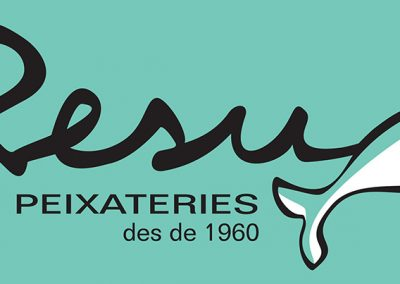 Logotip Resu Peixateries