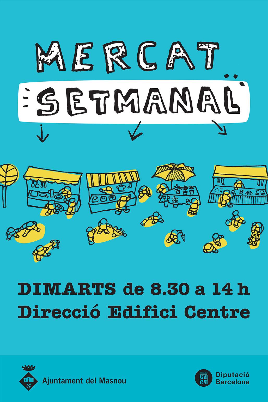 Senyalítica Mercat Setmanal del Masnou