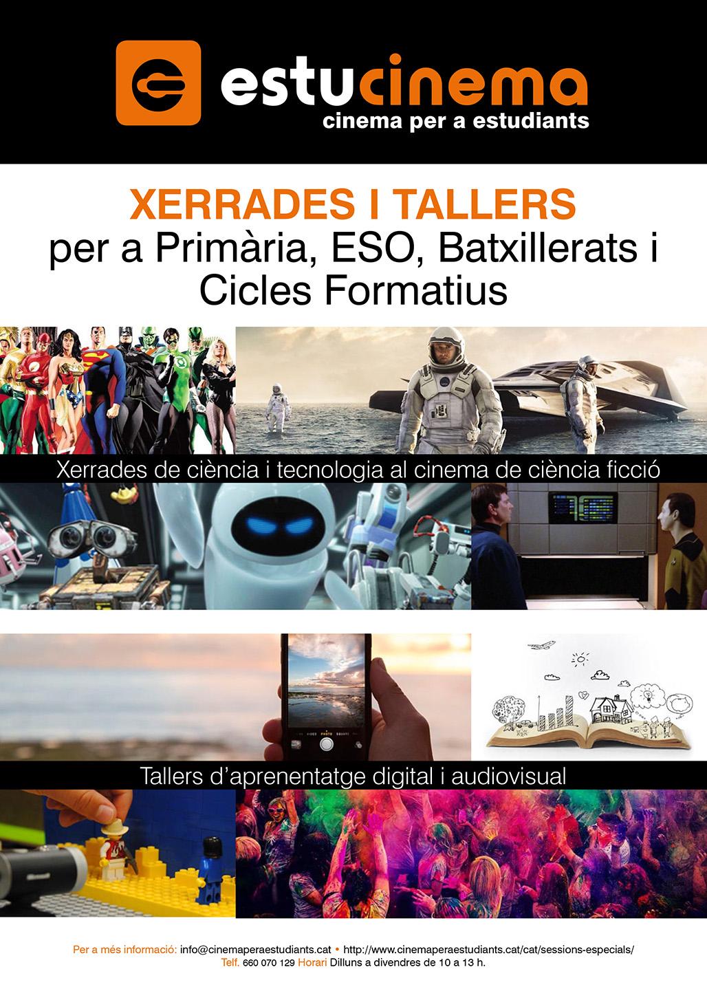 Dossier Xerrades i Tallers Cinema per a estudiants
