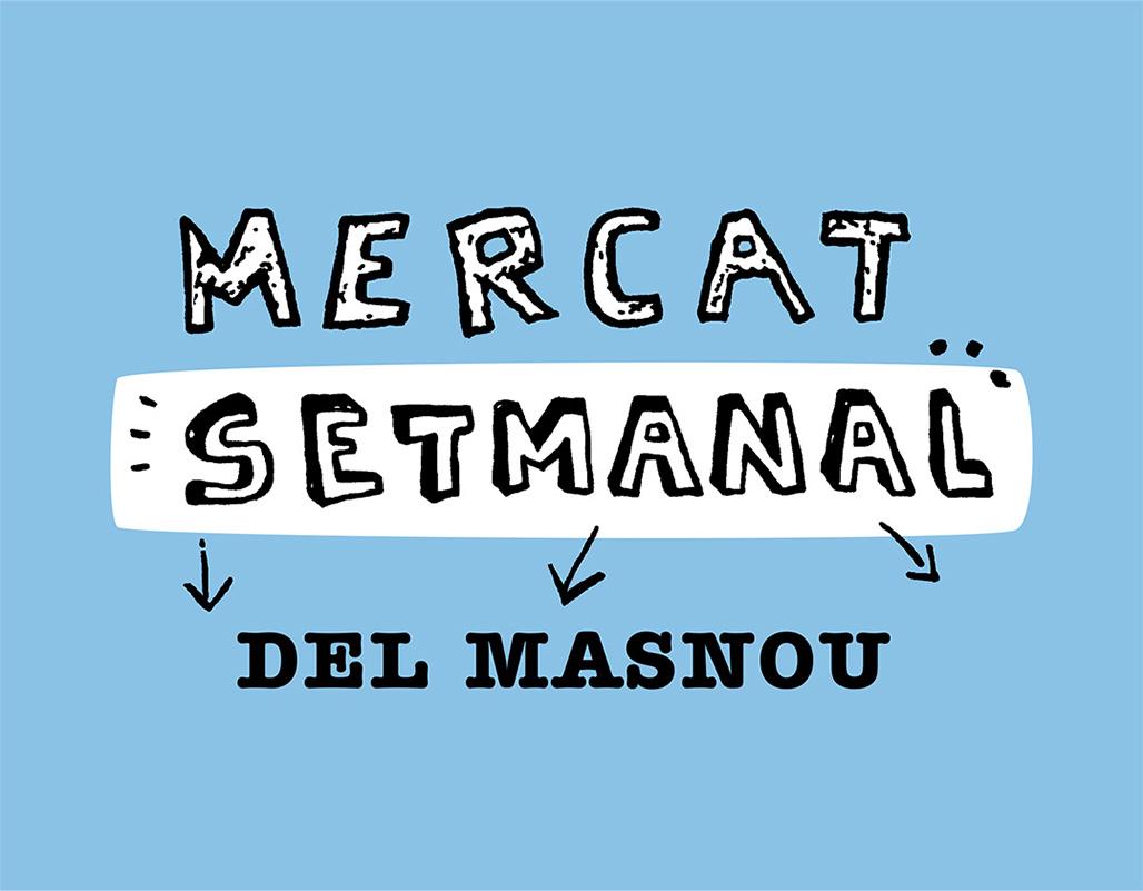 Logotip Mercat Setmanal del Masnou