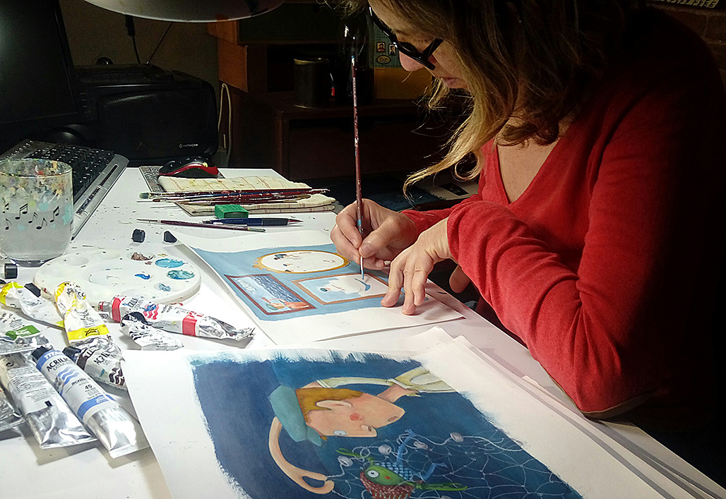 Il·lustrant els Marlinets